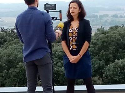 Visite ADEME presse/médias à Villeveyrac « La transition énergétique et écologique en actions en Occitanie »
