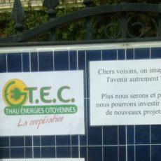 Un «Drive militant» à Frontignan pour les énergies renouvelables.